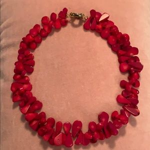 Jewelry - Red stone necklace